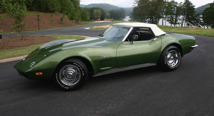 Elkhart Green 1973 GM Chevrolet Corvette