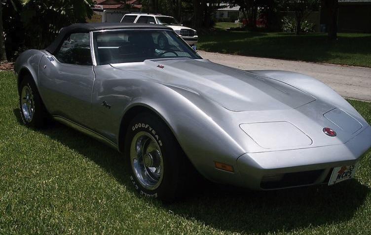 Silver Mist 1974 GM Chevrolet Corvette