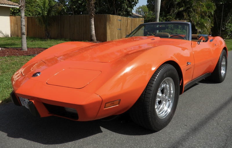 Flame Red 1975 GM Chevrolet Corvette