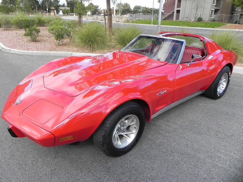 Red 1976 GM Chevrolet Corvette