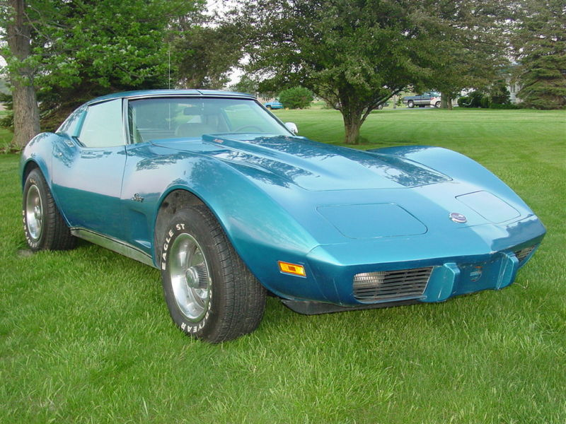 Bright Blue 1976 GM Chevrolet Corvette L82
