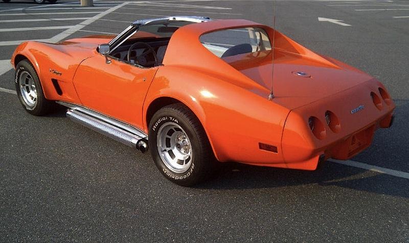 Orange Flame 1976 GM Chevrolet Corvette
