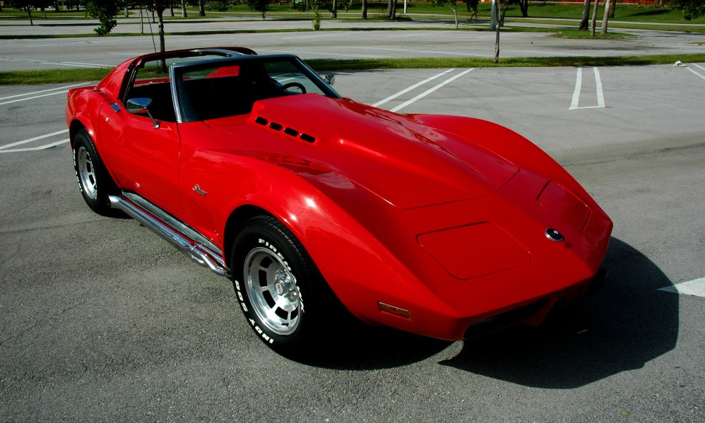 Red 1976 GM Chevrolet Corvette