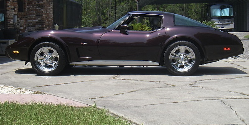 Mahogany 1978 GM Chevrolet Corvette