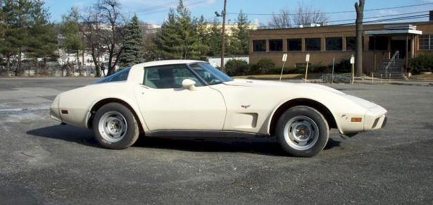 Frost Beige 1978 gm Chevrolet Corvette