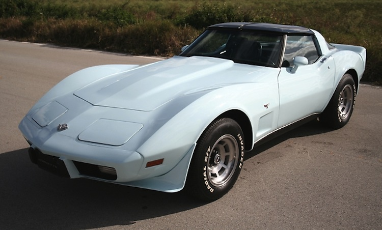 Frost Blue 1978 GM Chevrolet Corvette