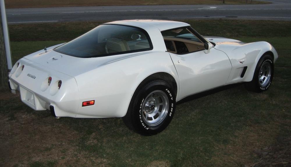 Classic White 1979 GM Chevrolet Corvette