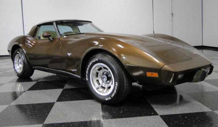Dark Brown 1979 GM Chevrolet Corvette