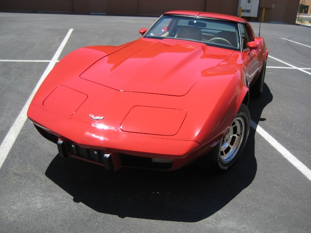 Red 1979 GM Chevrolet Corvette