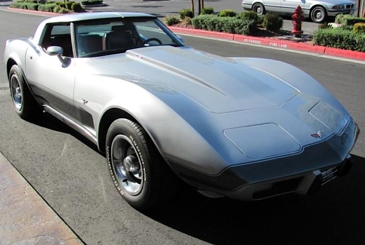 Silver 1979 GM Chevrolet Corvette