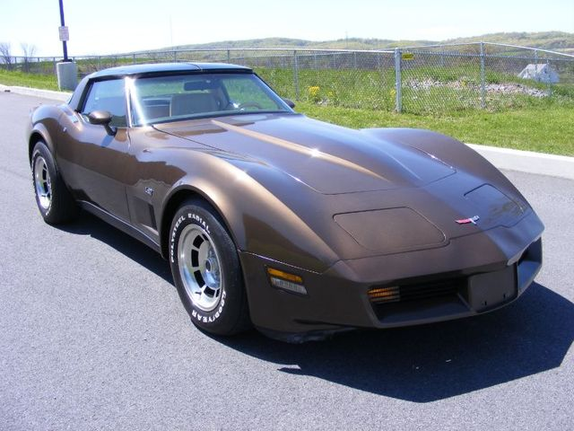 Dark Brown 1980 GM Chevrolet Corvette