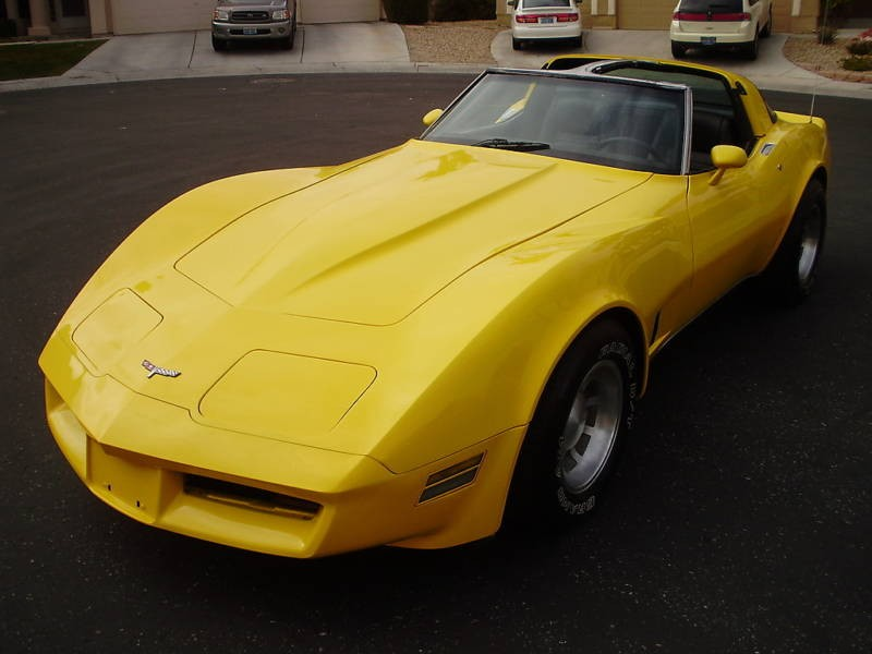 Hello yellow 1980 corvette paint cross reference