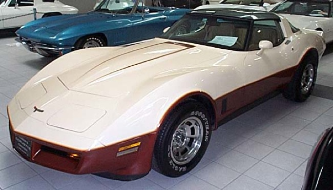 Beige 1981 GM Chevrolet Corvette