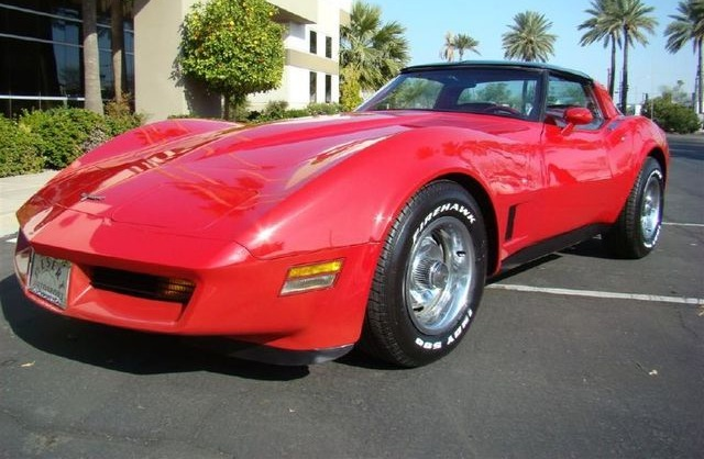 Red 1981 GM Chevrolet Corvette