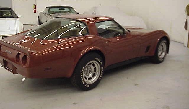 Dark Bronze 1981 GM Chevrolet Corvette