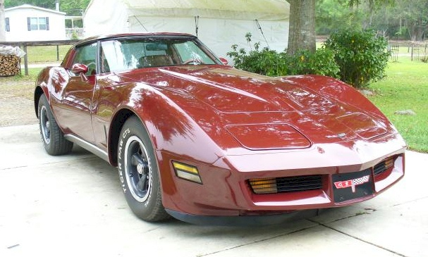 Mahogany 1981 GM Chevrolet Corvette