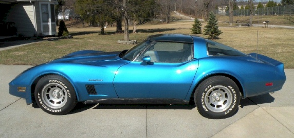 Bright Blue 1982 GM Chevrolet Corvette