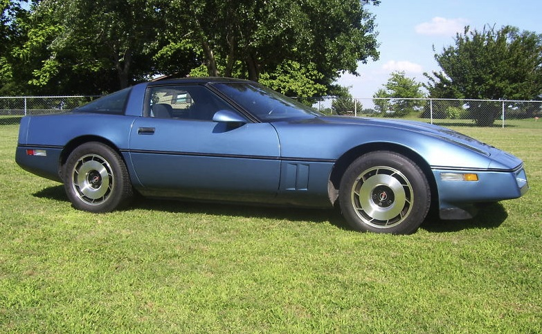 Medium Blue 1984 GM Chevrolet Corvette