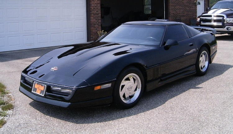 Black 1984 GM Corvette