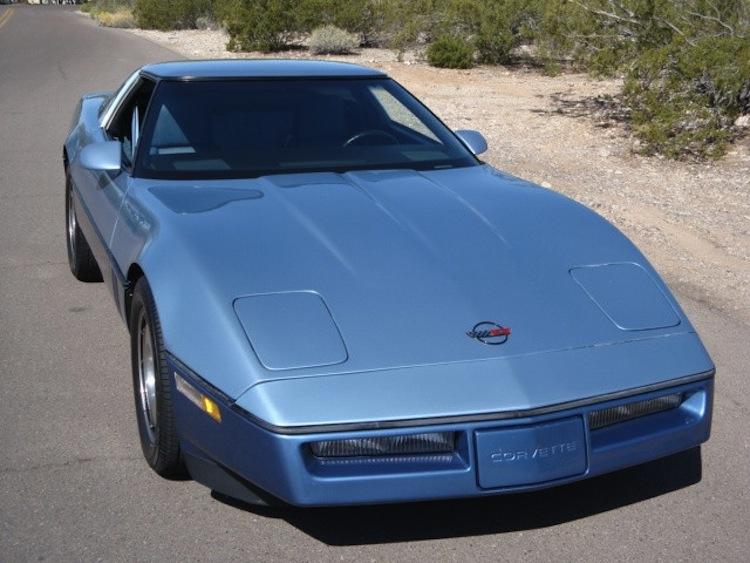 Light Blue 1985 GM Chevrolet Corvette