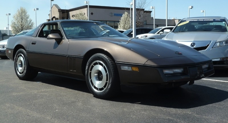 Dark Bronze 1985 GM Chevrolet Corvette