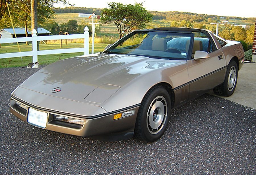 Light Bronze 1985 GM Chevrolet Corvette