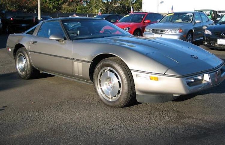 Silver Beige 1986 GM Chevrolet Corvette