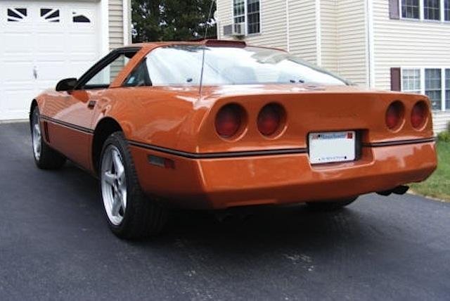 Copper 1986 GM Chevrolet Corvette