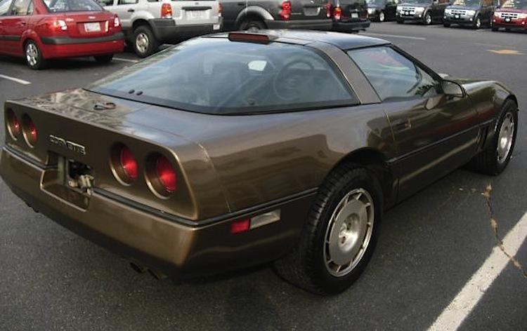 Medium Brown 1986 GM Chevrolet Corvette