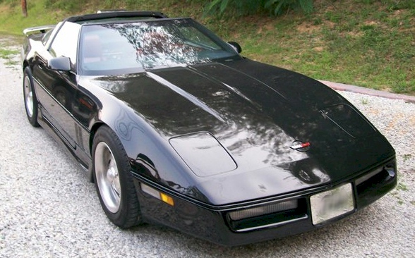 Black 1986 GM Chevrolet Corvette