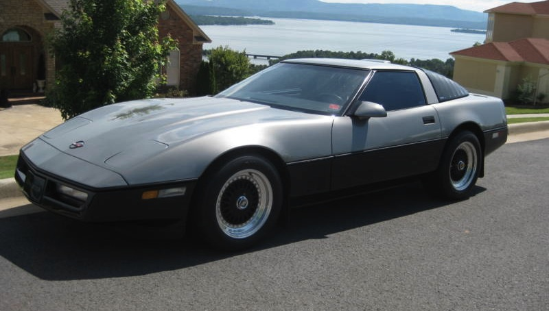 Silver 1987 GM Chevrolet Corvette
