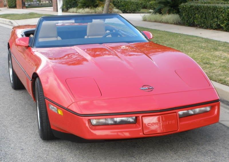 Bright Red 1987 GM Chevrolet Corvette