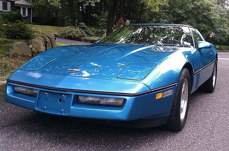 Nassau Blue 1988 GM Chevrolet Corvette