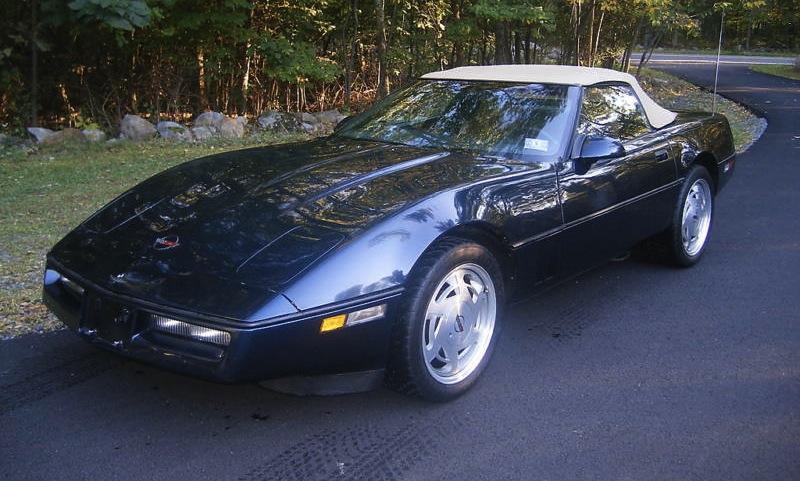 Black Sapphire 1988 GM Chevrolet Corvette