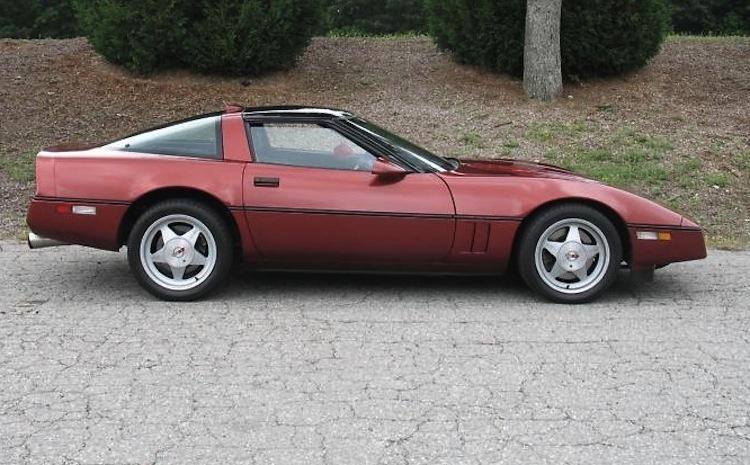 Dark Red 1988 GM Chevrolet Corvette