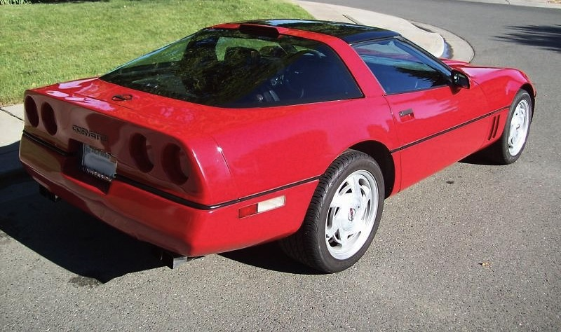 Bright Red 1989 GM Chevrolet Corvette