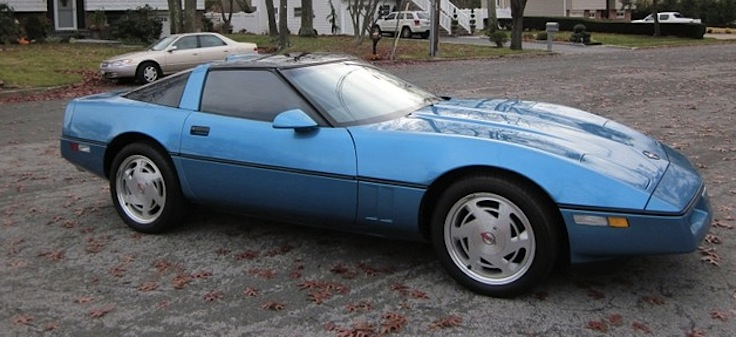 Nassau Blue 1989 GM Chevrolet Corvette