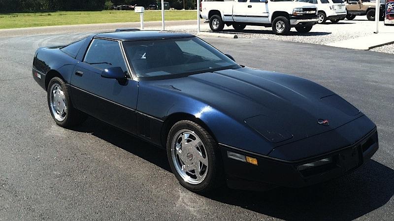 Black Sapphire 1989 GM Chevrolet Corvette
