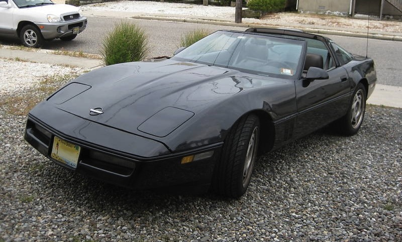 Black 1990 GM Chevrolet Corvette