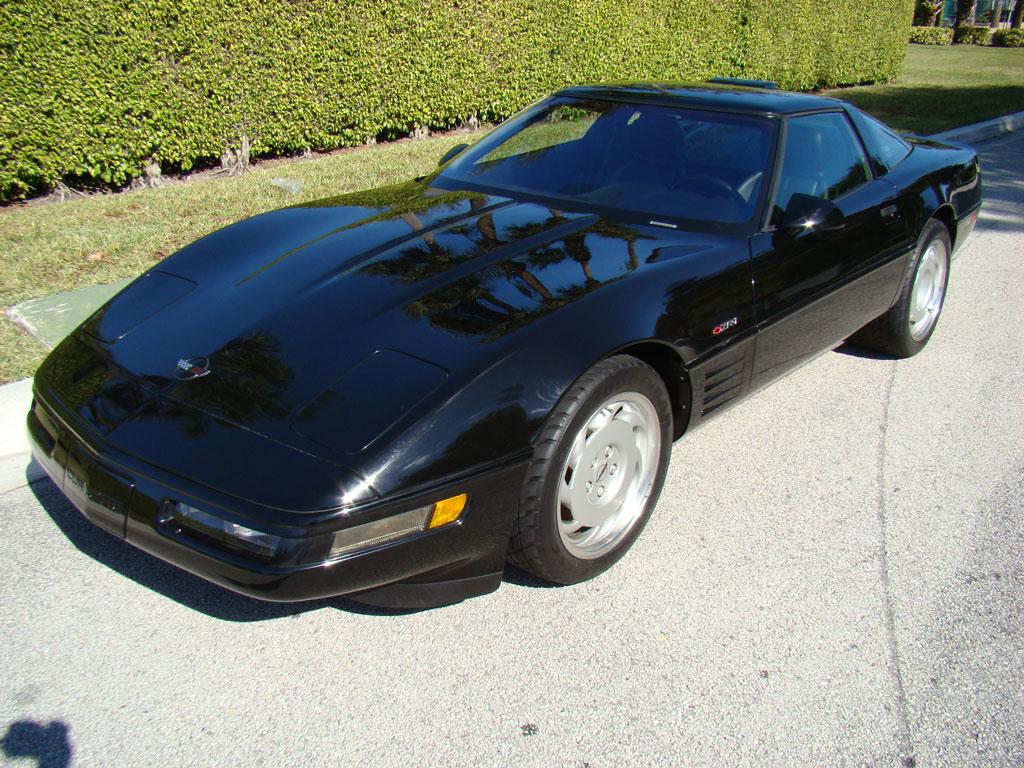 Black 1991 GM Chevrolet Corvette