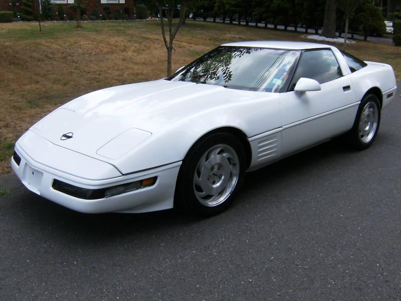 White 1991 GM Chevrolet Corvette