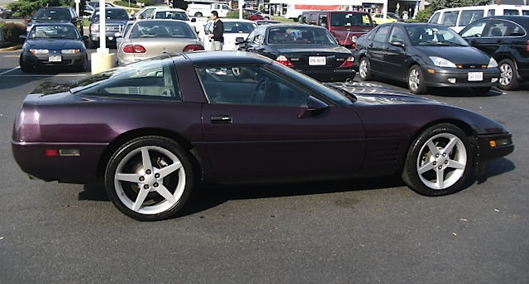Black Rose 1992 GM Chevrolet Corvette