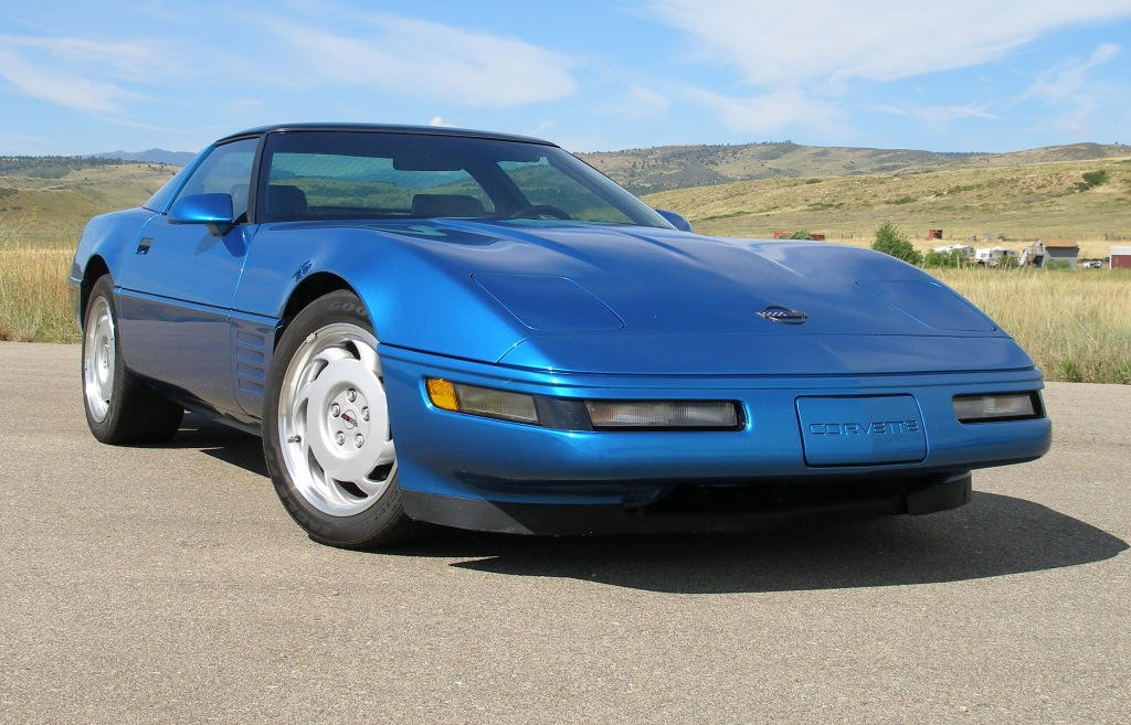Quasar Blue 1992 GM Chevrolet Corvette