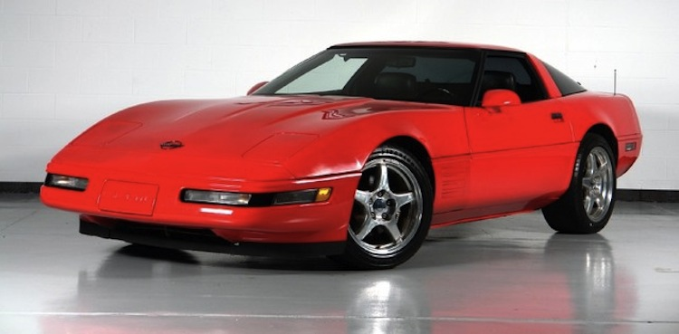 Torch Red 1993 GM Chevrolet Corvette
