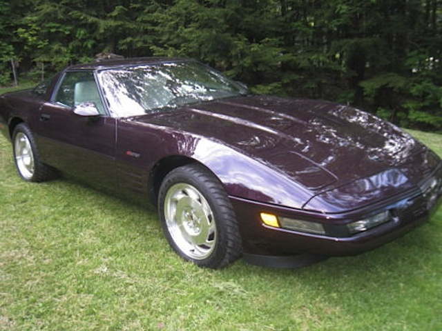 Black Rose 1993 GM Chevrolet Corvette
