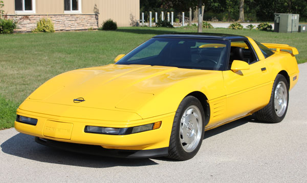 Competition Yellow 1993 GM Chevrolet Corvette