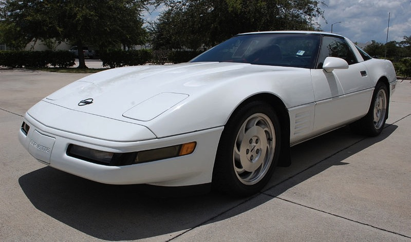 Arctic White 1994 GM Chevrolet Corvette