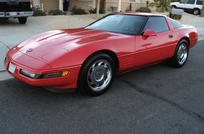 Torch Red 1994 GM Chevrolet Corvette