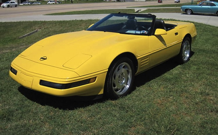 Competition Yellow 1994 GM Chevrolet Corvette