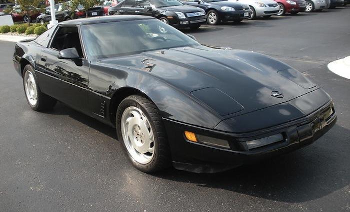 Black 1994 GM Chevrolet Corvette